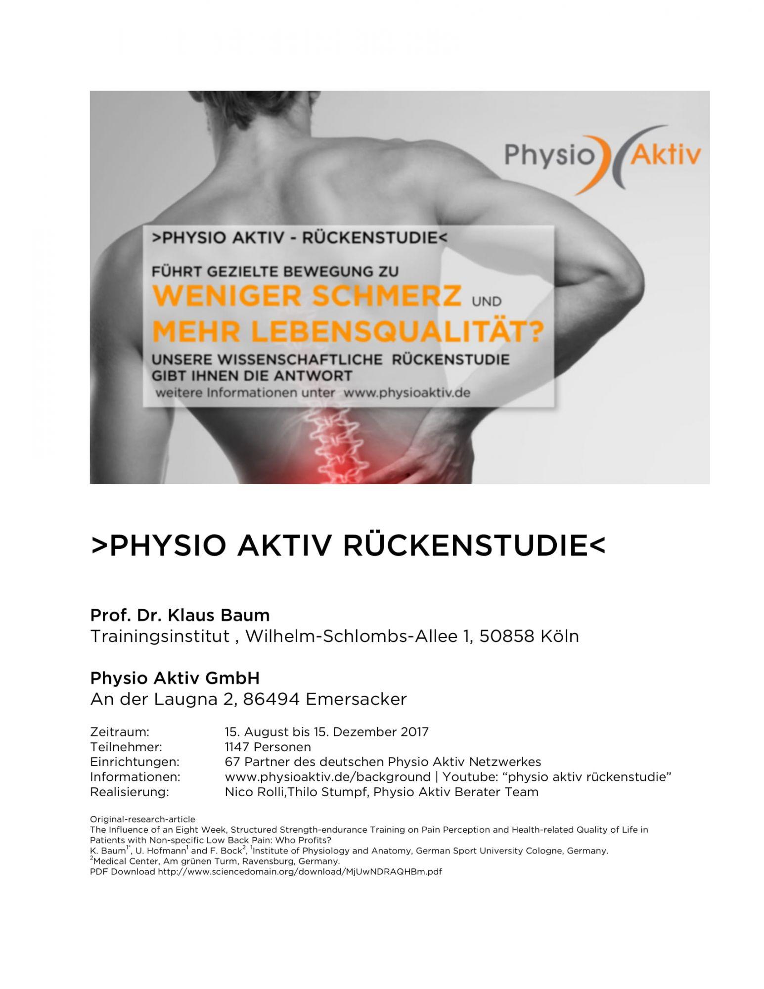 Aktuelles Physio Aktiv Celle